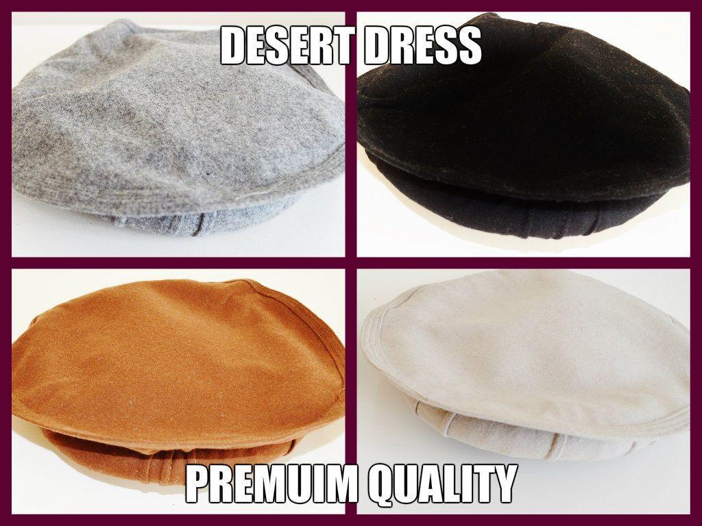 Afghan Hat Pakul Pakol Premium Quality Taliban 6 Colours Mens Islam Head  Winter 6c334e12d89a