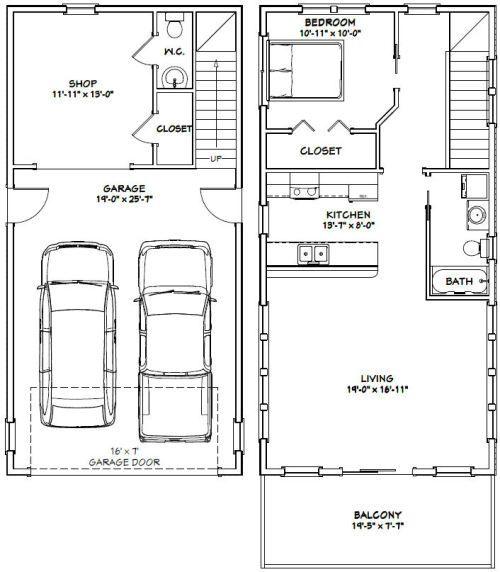 Excellent Floor Plans Garage Apartment Floor Plans Apartment Floor Plans Garage House Plans