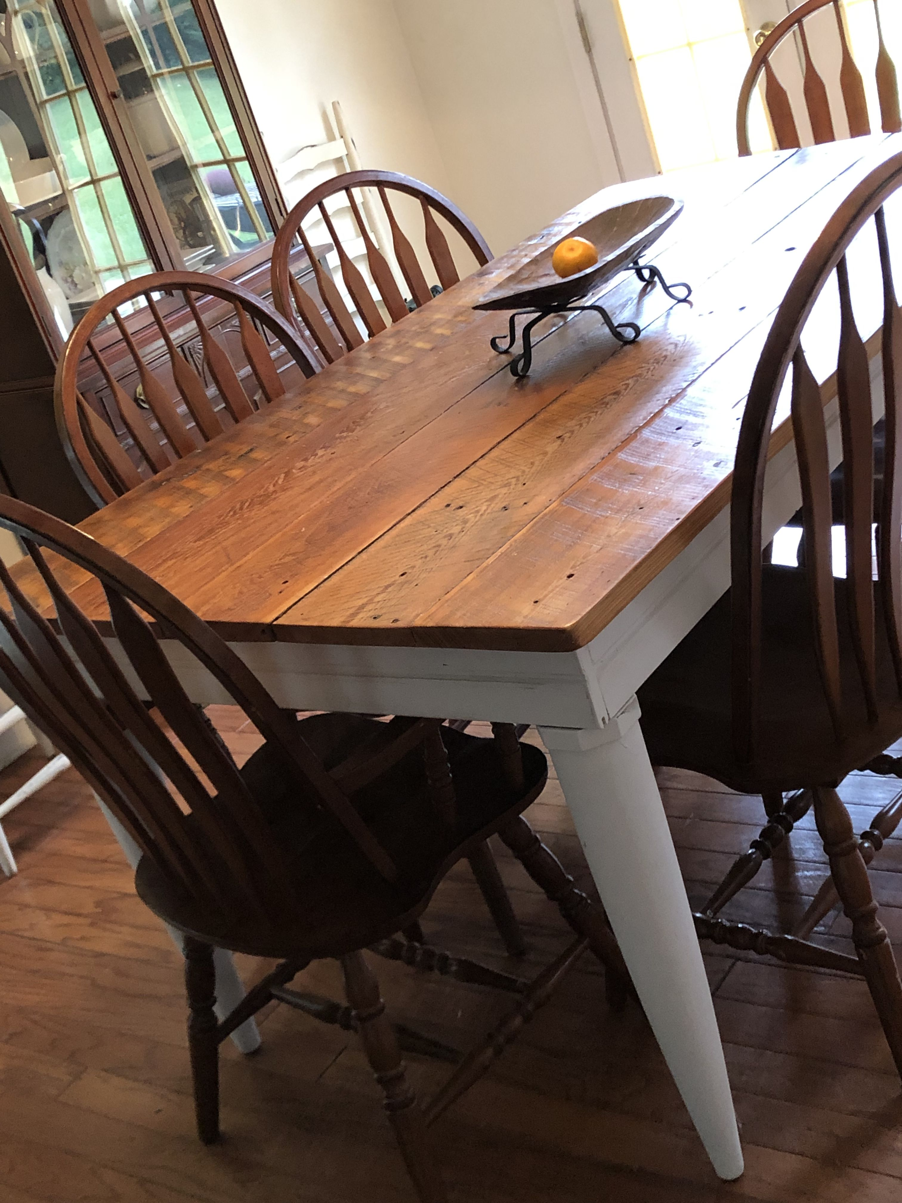 Cypress table farmhouse country rustic dining table