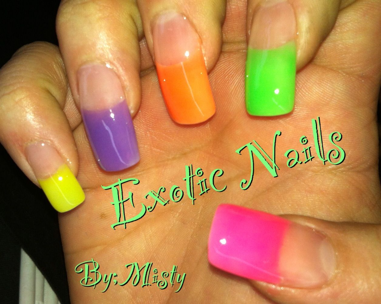 Pin by audrey hawes on Nails | Pinterest | Exotic nails, Painted ...