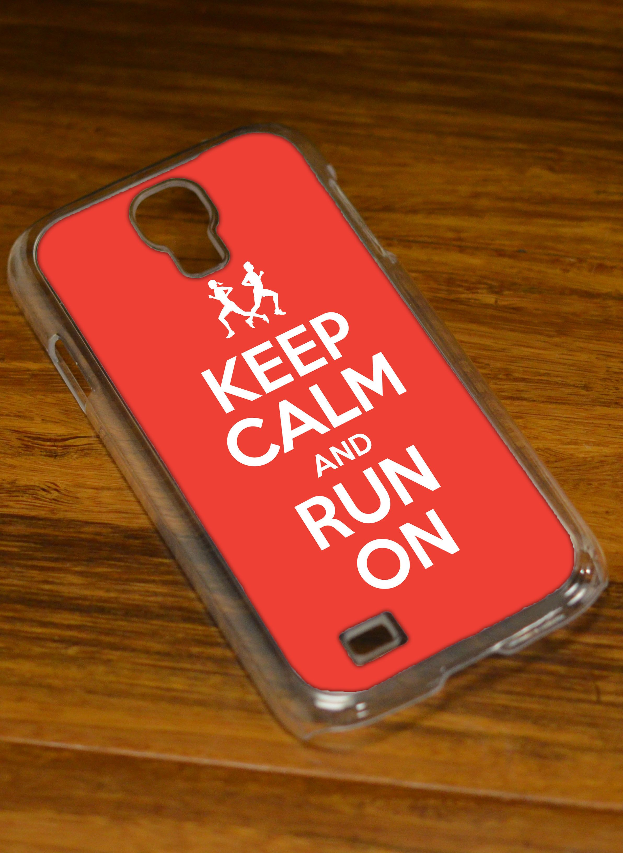 Keep calm and run on with this samsung galaxy running