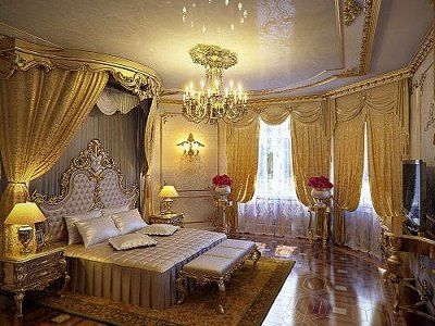Luxury Bedroom Designs   Marie Antoinette Style Theme Decorating Ideas    French Provincial Furniture Baroque Style