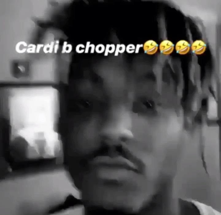 Cardi B Chopper .. OKURRRTTTTTT
