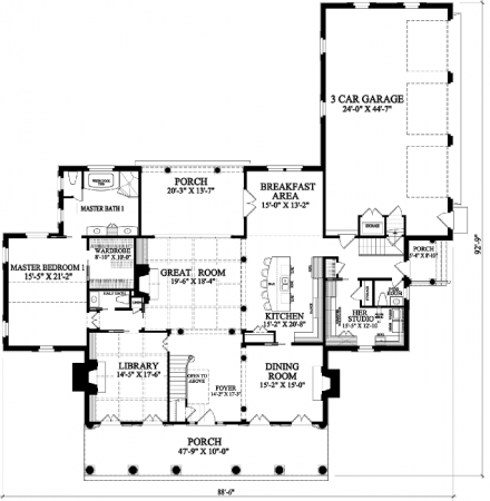 William E Poole Designs Brentwood Coastal House Plans Mudroom Floor Plan How To Plan