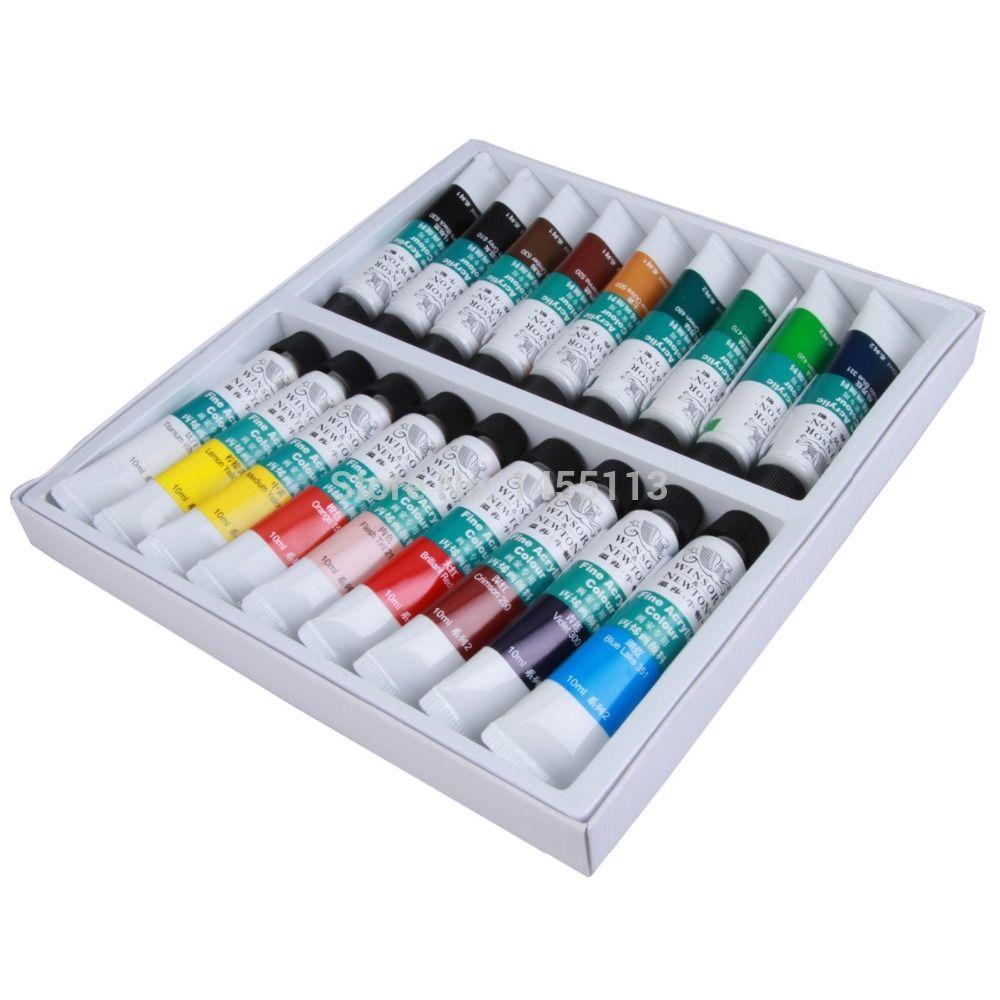 Hot Sale Colors Pro Acrylic Nail Paints Flowers Pigment Nail Art