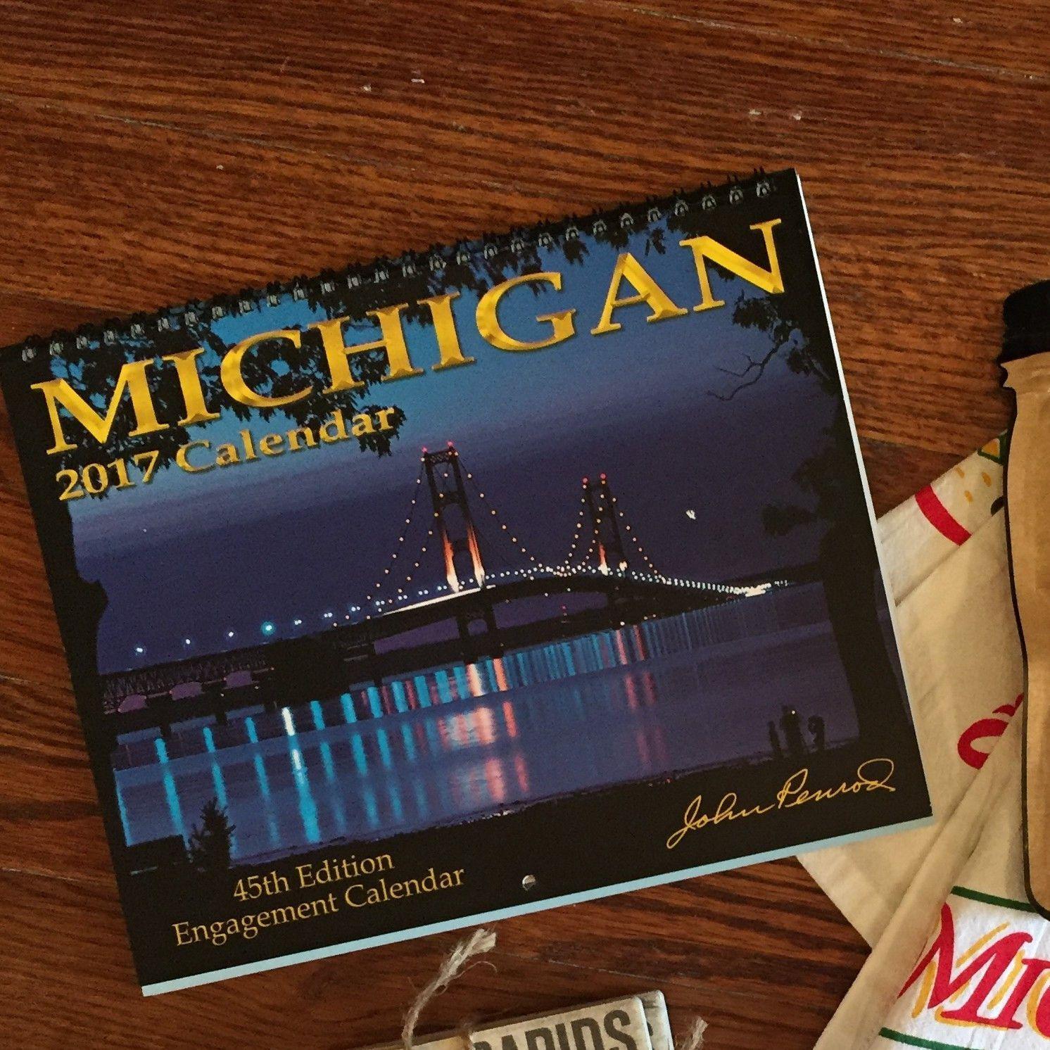 2017 Michigan Calendar