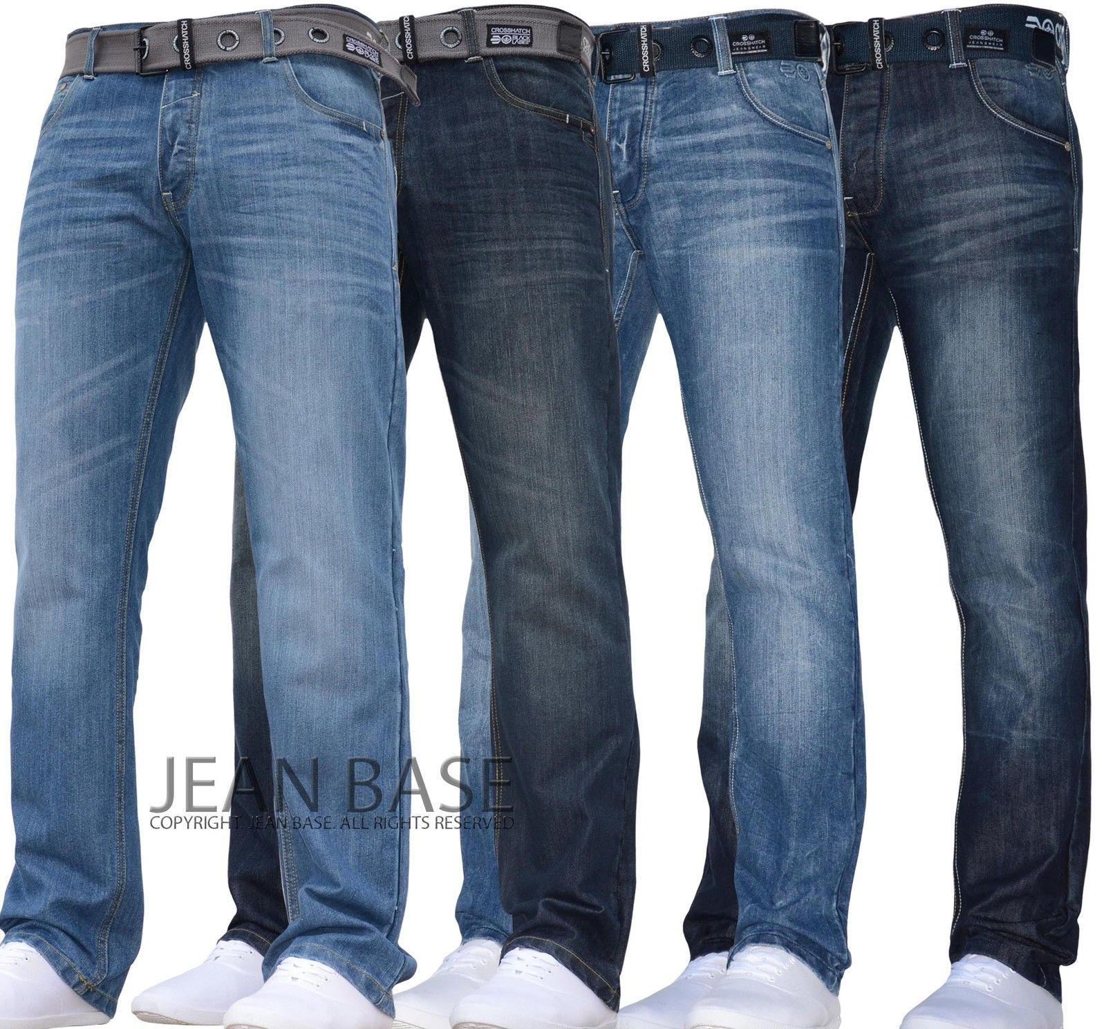 2f2aa3a16f9 NEW MENS CROSSHATCH STRAIGHT LEG DARK BLUE JEANS ALL WAIST SIZES JEANBASE  NW1 | eBay #Denim Jean Pants Men #Denim Pants #Denim Jeans for Men #Denims  for Men