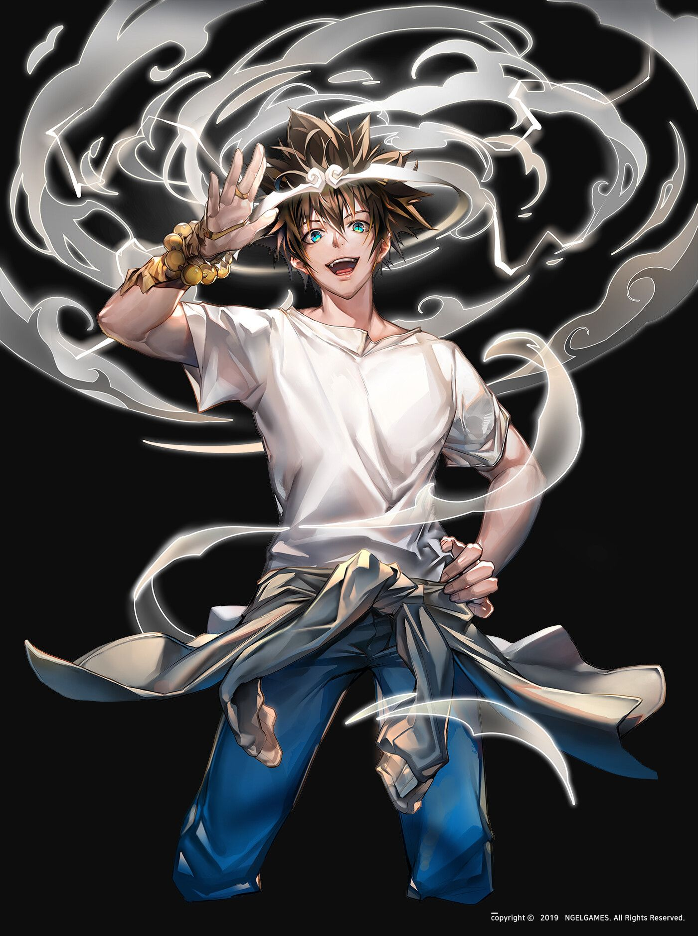 The God Of High School Wallpaper in 2020 Black anime