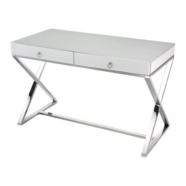 Maizie White Gl Desk