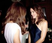LOS ANGELES, CA - JULY 09: Catherine, Duchess of Cambridge speaks to Jennifer Garner at the 2011 BAFTA Brits To Watch Event at the Belasco Theatre on July 9, 2011 in Los Angeles, California