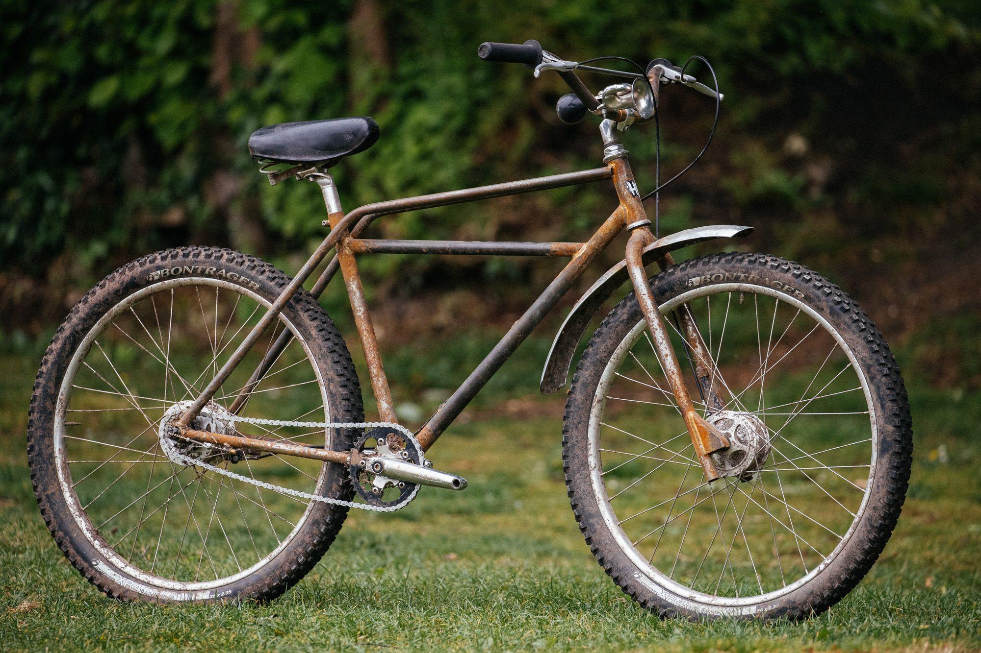 b1ef259dee2 Andrew's Hack Bike Derby Not-So-Trusty Rusty Klunker | Velo | Bike ...