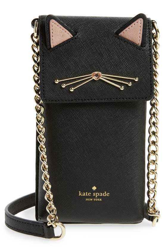 3e1bfeccc345 kate spade new york cat smartphone crossbody bag | as in I want this ...