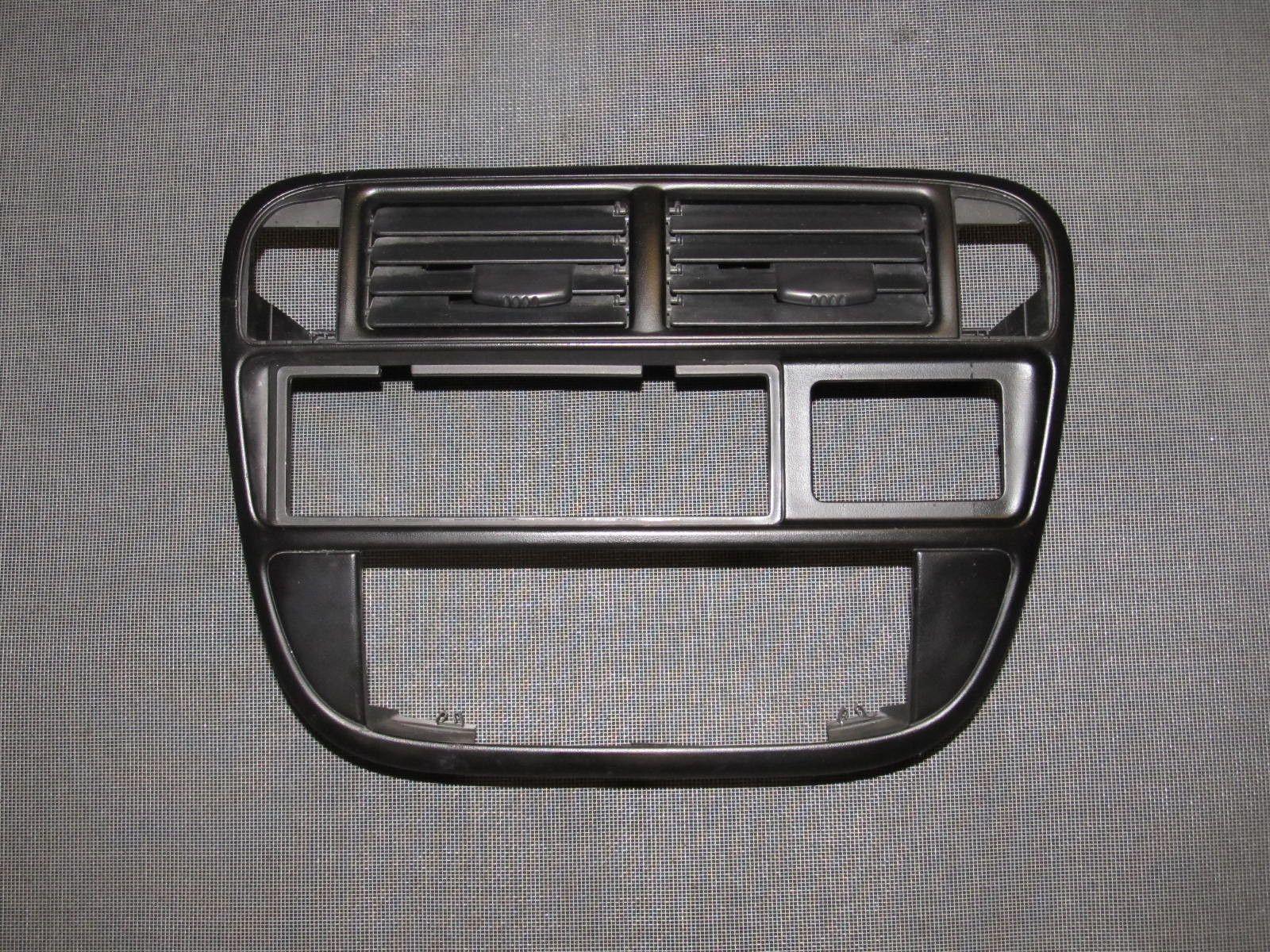 96 97 98 99 00 Honda Civic OEM Dash Stereo Bezel U0026 Louver Trim