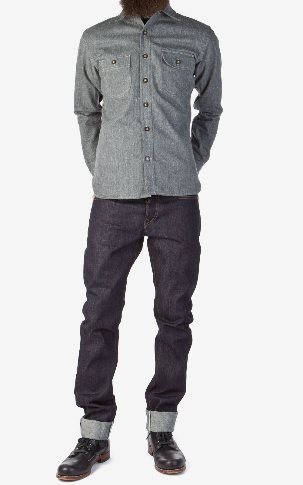 Rogue Territory Stanton Raw Indigo Selvedge Slub 16.75oz