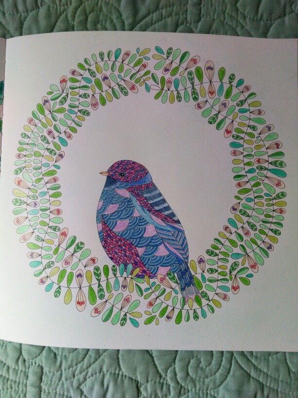 Pencils KM Millie Marotta Animal Kingdom Bird Wreath