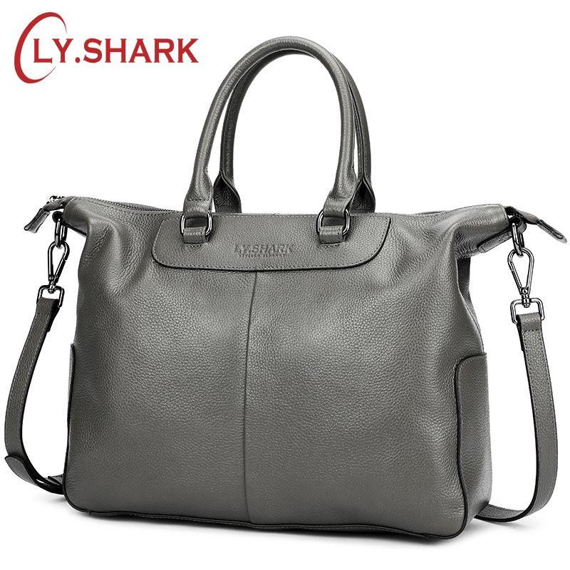 4c1ef605b2 SHARK Female Bag Women Genuine Leather Women Handbag Brand Luxury Leather  2019 Crossbody Bag Women Shoulder Bag Ladies Large