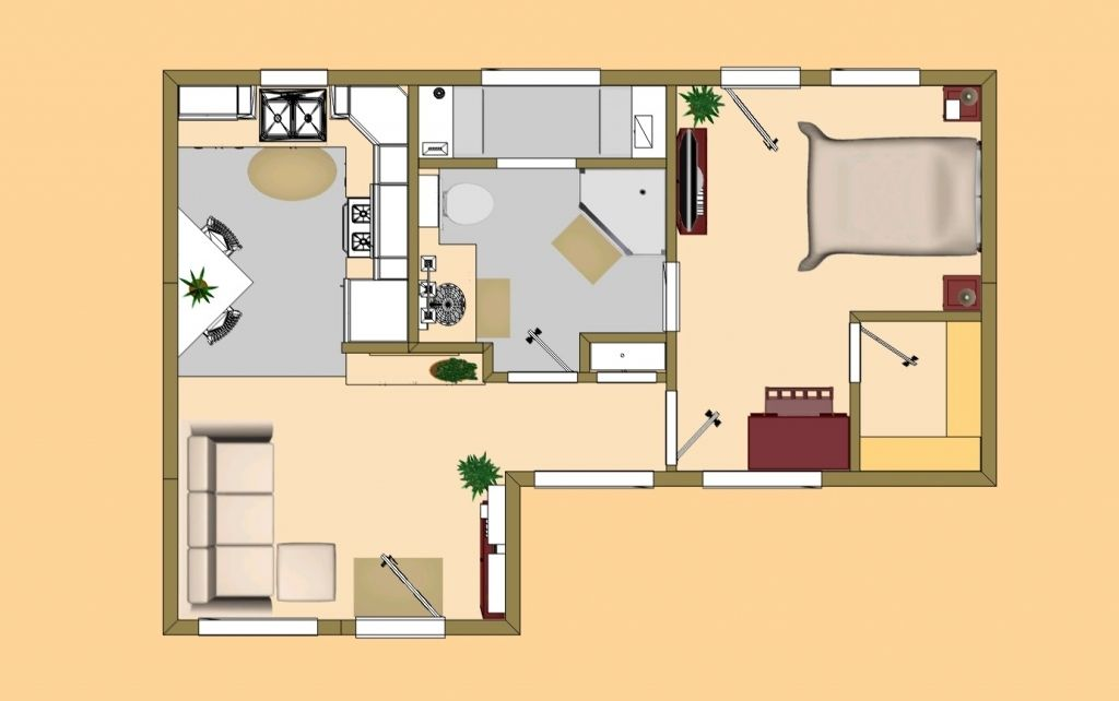 400 Sq Ft House Plans 400 Sq Ft House Plans In Chennai The Tiny House Plans Small House Plans Tiny House Floor Plans