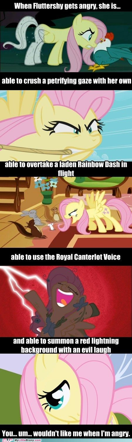 This is why fluttershy is my favorite.