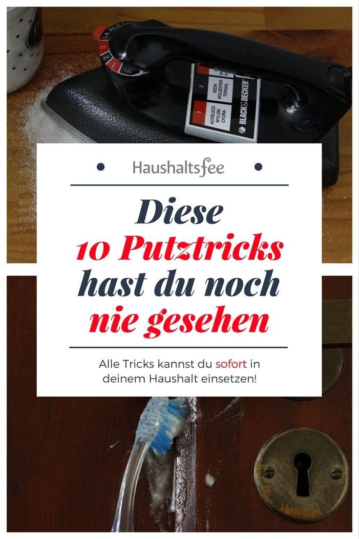 Putztricks für Bad, Küche und Haushalt 20 Mal Putzen ohne Chemie ...