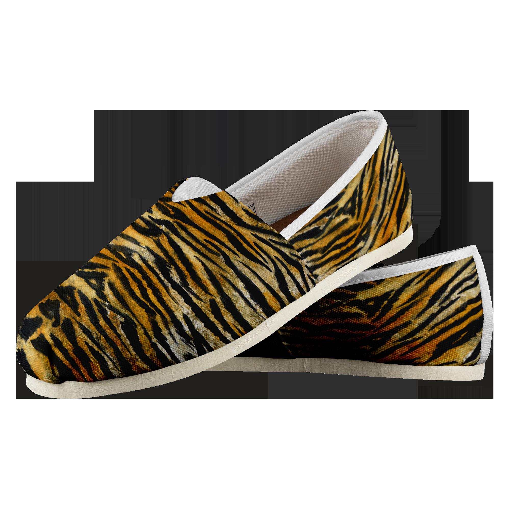 8da632ac Saki Elite Luxury Orange Bengal Tiger Stripe Animal Print Women's ...