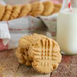 Gemma's Best-Ever Peanut Butter Cookies Recipe | Bigger Bolder Baking #peanutbuttersquares