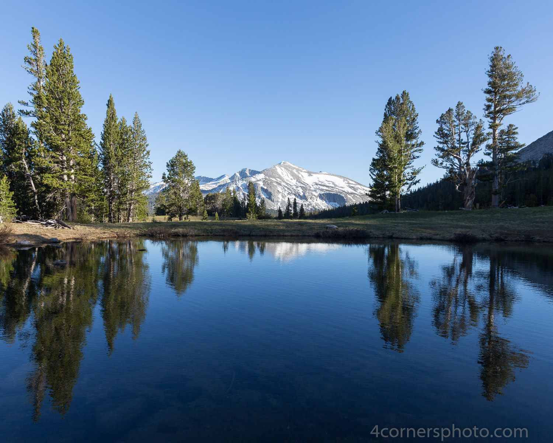 Kuna Crest Reflection Yosemite National Park