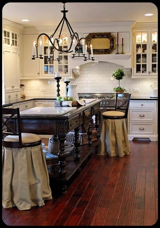 what a fabulous French country kitchen    KITCHENS Pinterest - French Country Kitchens
