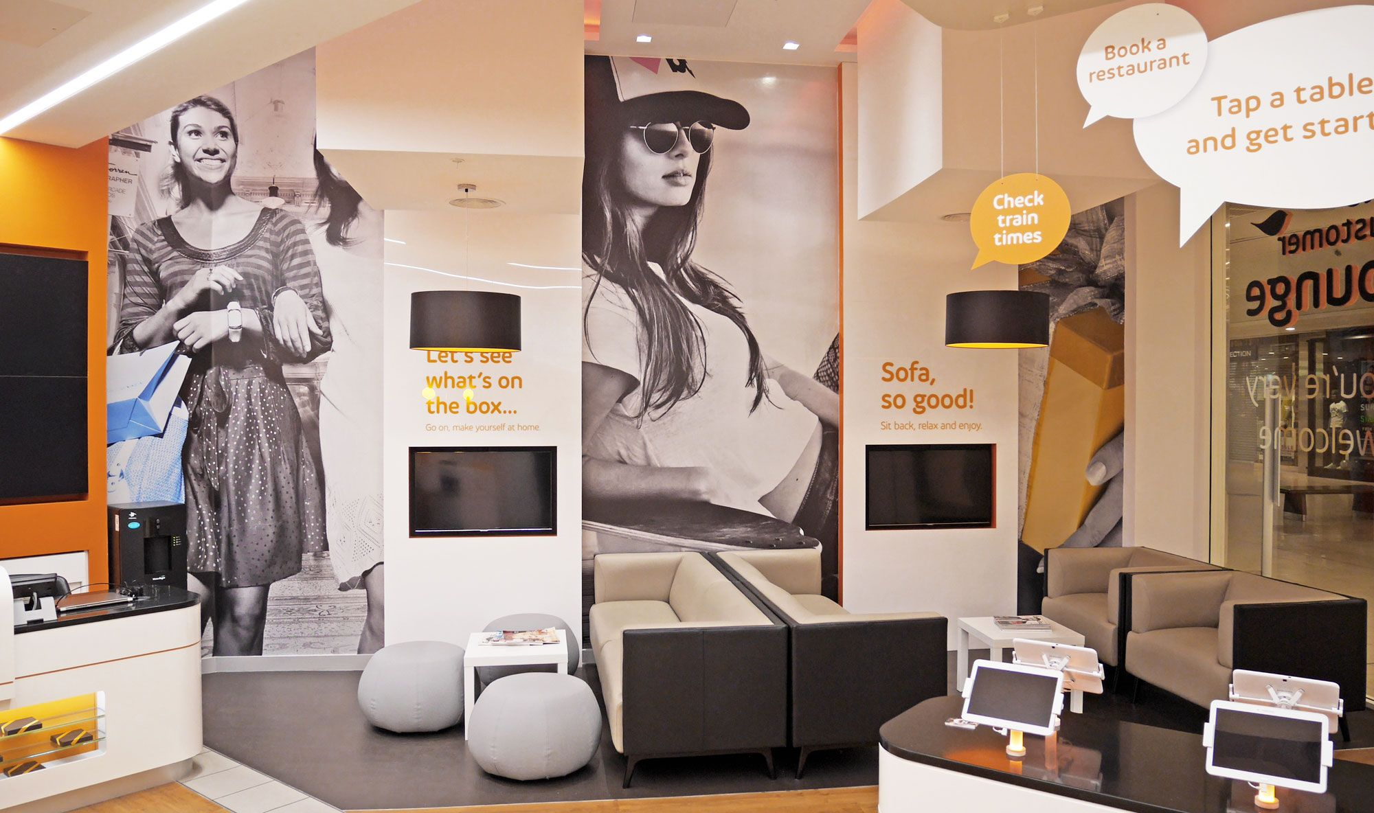 Intu Lakeside Shopping Center Customer Service Lounge
