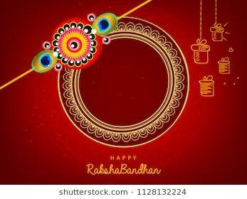 Illustration Of Sale And Promotion Banner Poster With Decorative Rakhi For Raksha Bandhan Indian Festival Of Brother An Rakhi Pic Indian Festivals Sale Poster