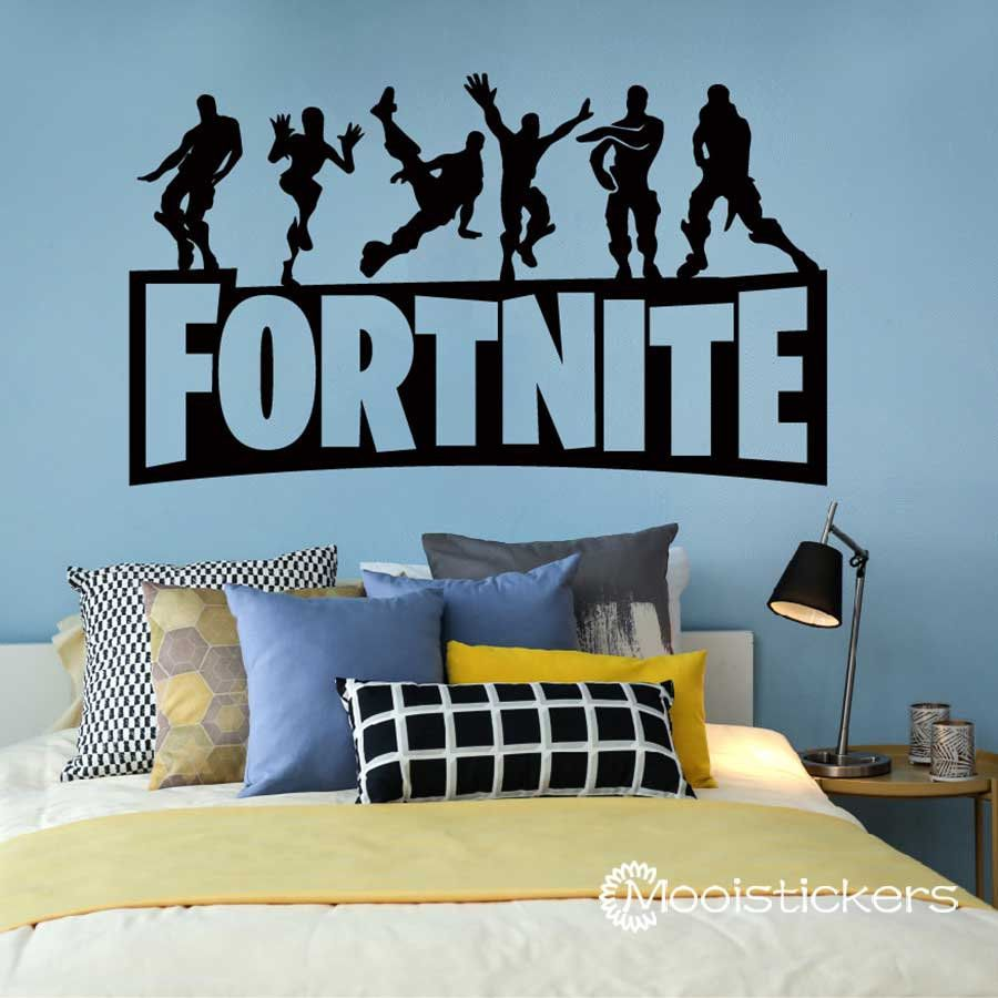 Fortniter Characters Dance Wall Decal-Game Fortnit Battle Royale