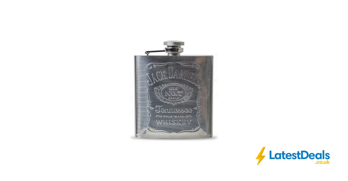 Jack Daniel's 6oz Hipflask, £7.99 at Argos Jack daniels