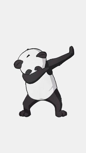 Yo It S A Dabbing Panda Dab On Bro Cute Panda Wallpaper Panda Artwork Panda Wallpapers