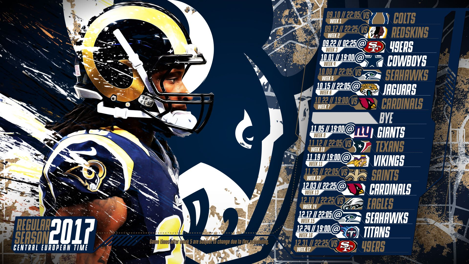 Pin On Nfl Schedule Wallpapers Central European Time