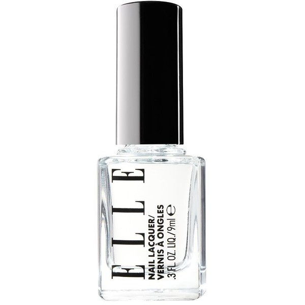 ELLE COSMETICS Clear Coat Nail Lacquer ($10) ❤ liked on Polyvore ...