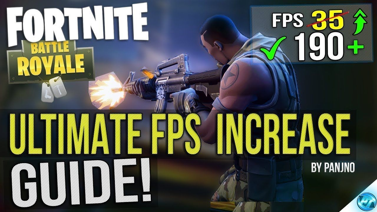 new fortnite fps boost on low end pc fix lag guide 2018 - fortnite pc lag fix
