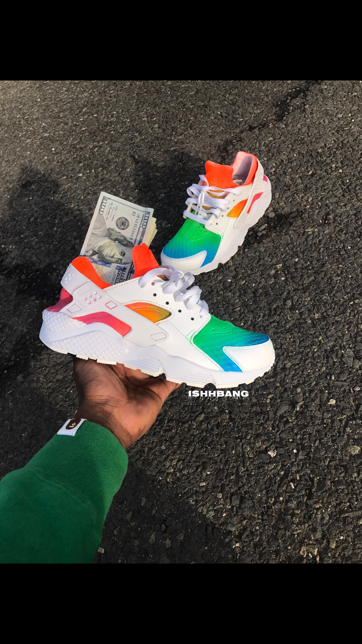 Rainbow d Huaraches - If you want any other colorways 62cf1a6f9