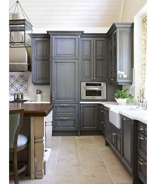 No Cabinet Kitchen Ideas: Home And Garden Design Ideas Dark