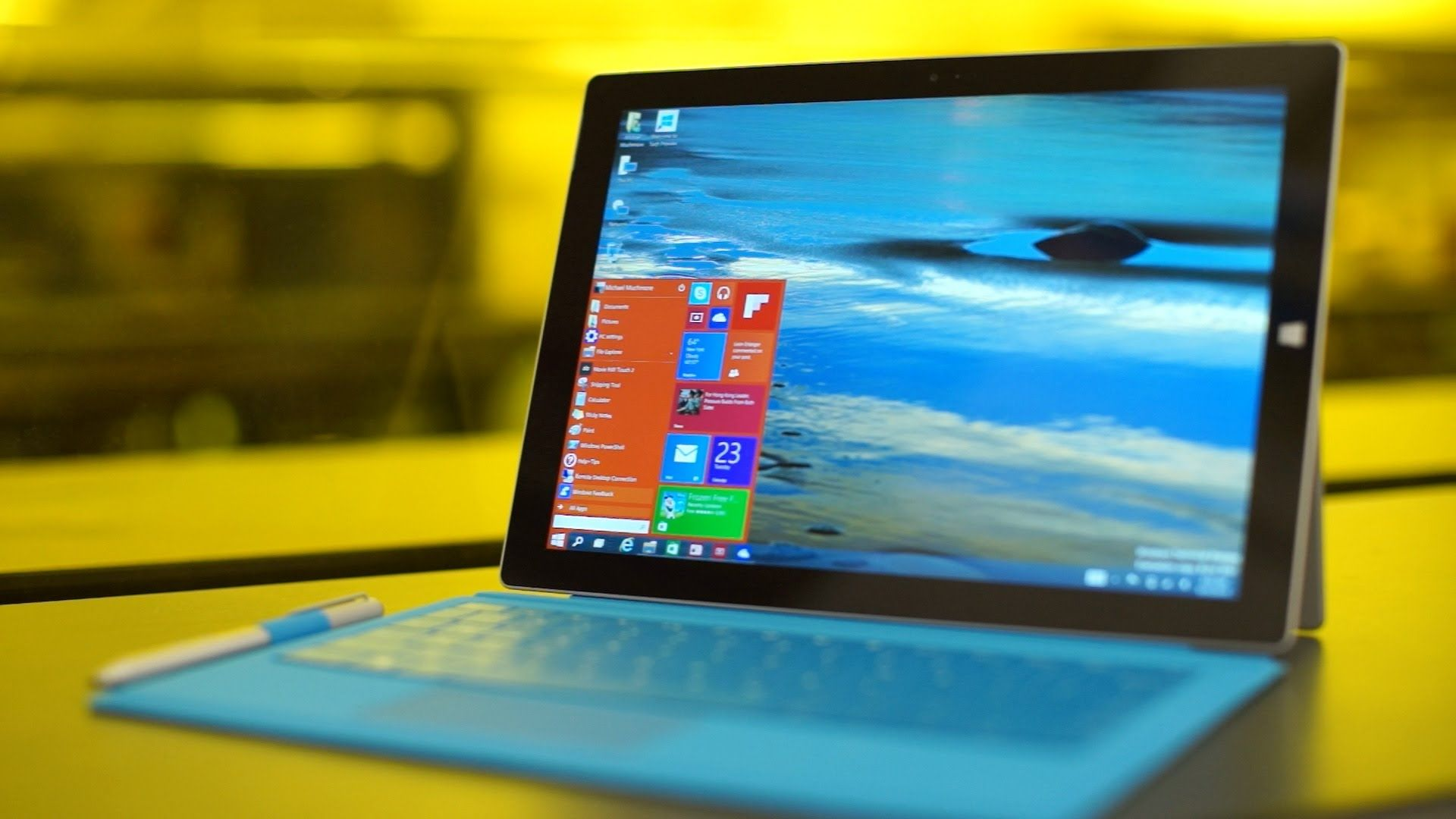 windows 10 technical preview on surface pro 3 (pc mag