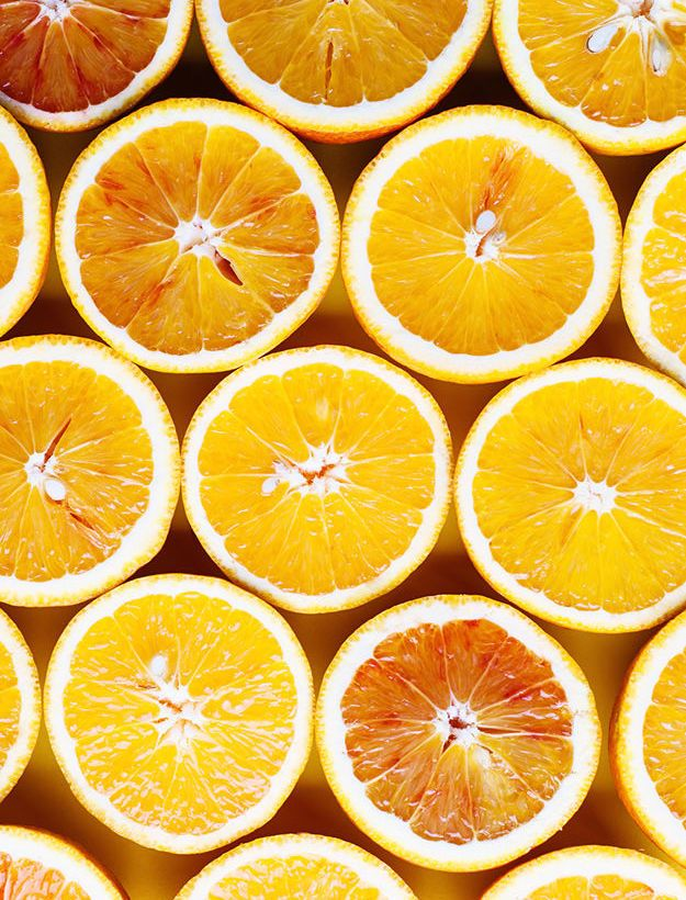 Ask Jean Vitamin C? Orange background, Yellow