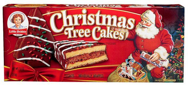 Chocolate Christmas Tree Cakes Christmas Tree Cake Tree Cakes Little Debbie Snack Cakes