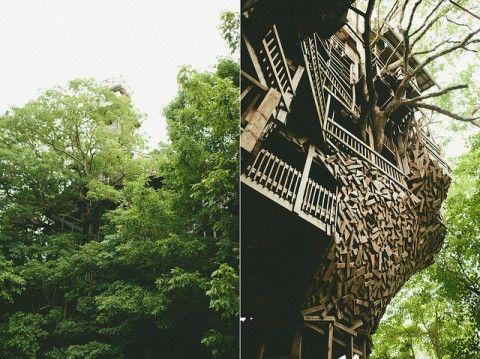 Isso sim é casa na árvore   publistagram.com