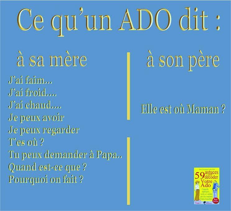 Ado Dit Citations Funny Humor Et Jokes