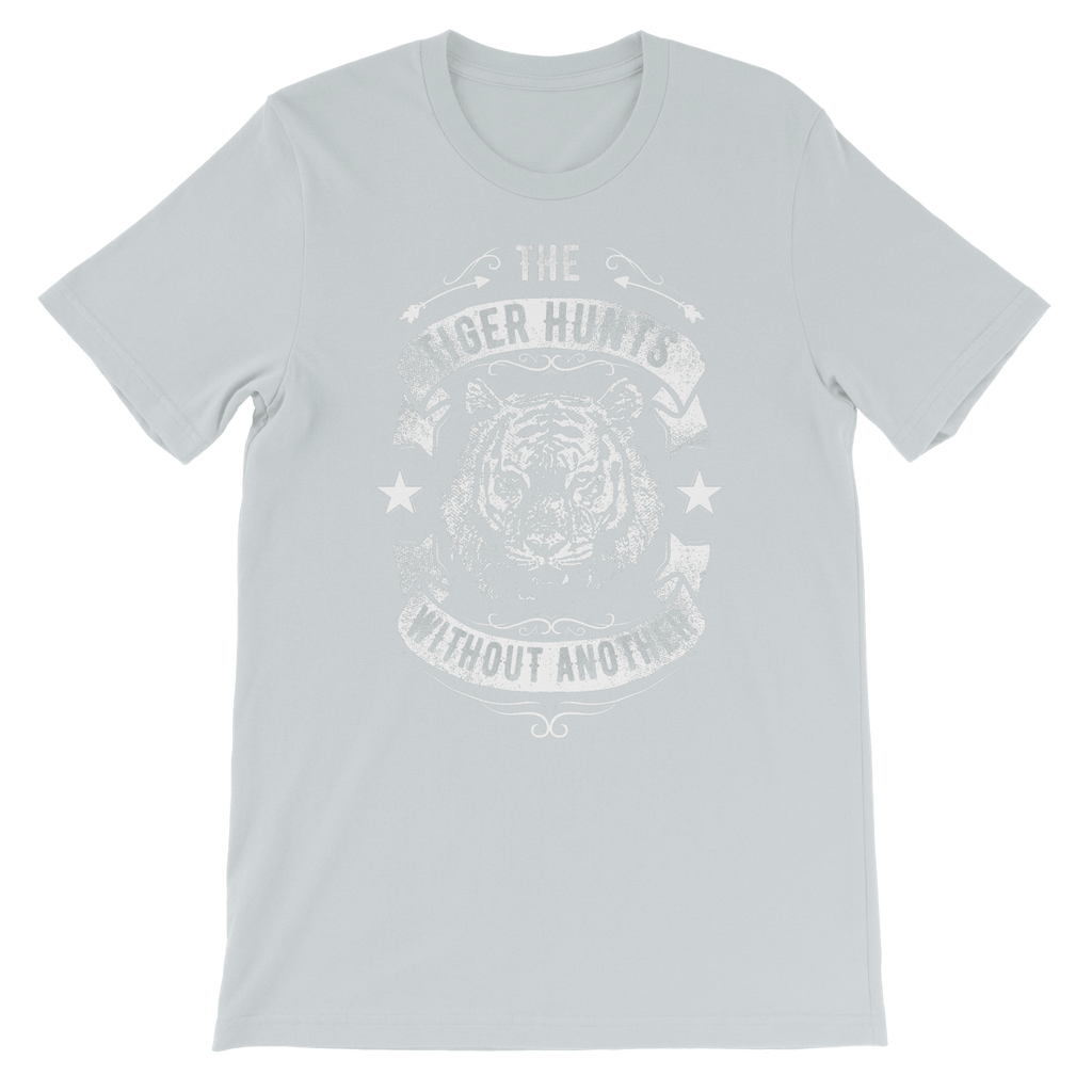 Love and Design Brand - The Tiger Hunts Without Another Kids TShirt