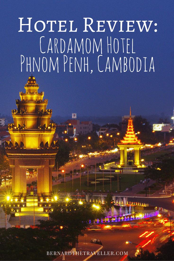 Review Cardamom Hotel Phnom Penh Cambodia Pinterest