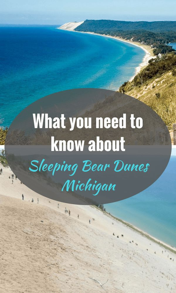 Sleeping Bear Dunes, Michigan Michigan family vacation
