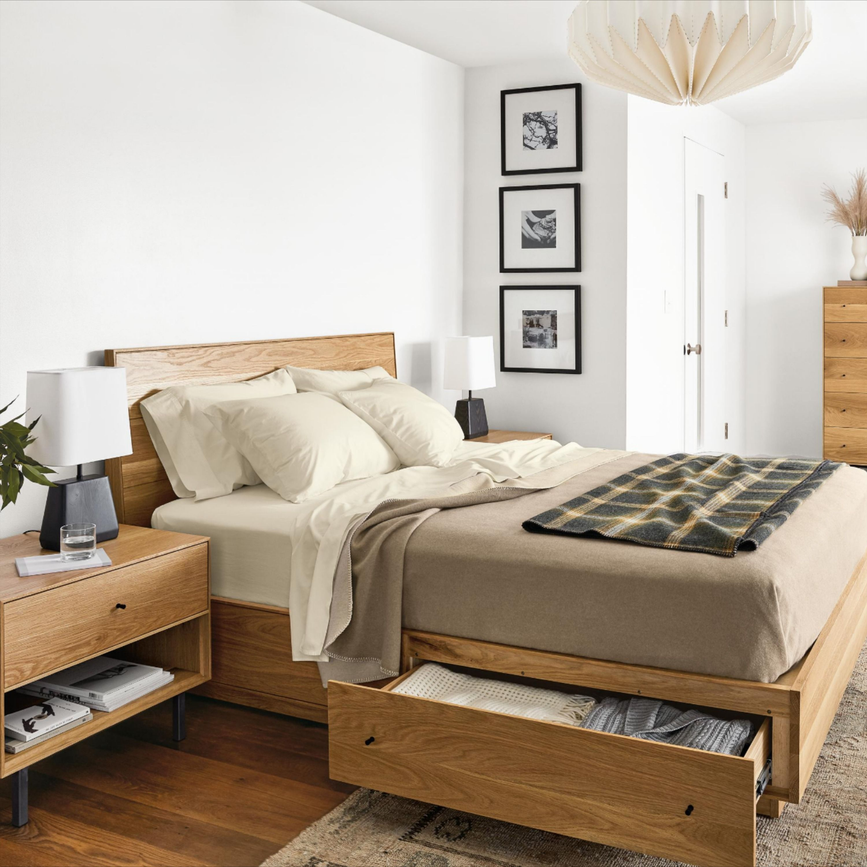 Hudson Bed with Storage Drawers - Modern & Contemporary Beds