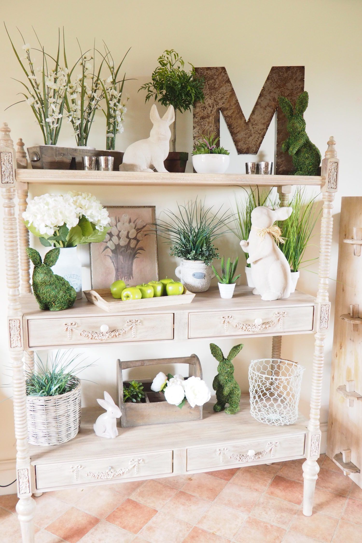 Casa Decoración Hogar Spring Easter Display Ideas Pascua Maravillosa En 2019