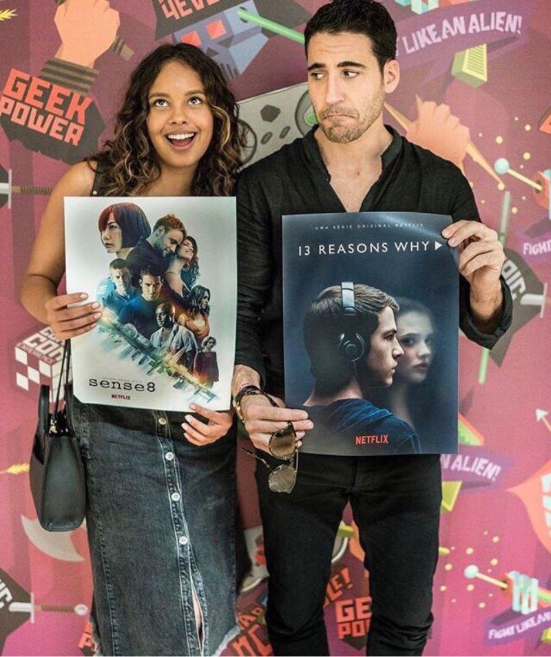 When Sense8 Meets 13 Reasons Why Com Imagens Series E Filmes