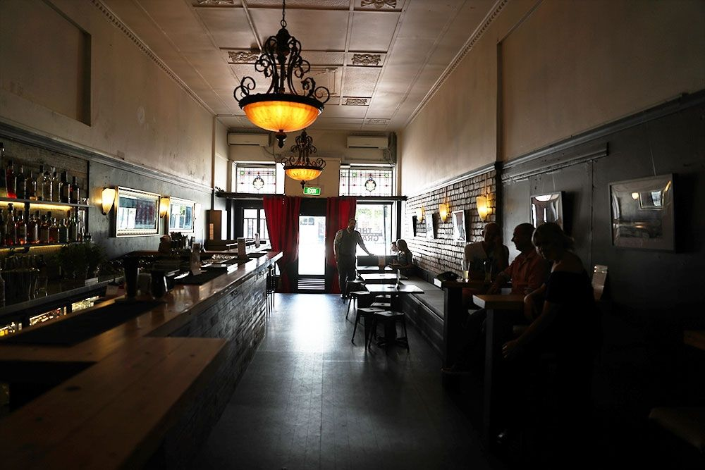 The Grand on Stanley is an old world art deco bar in an