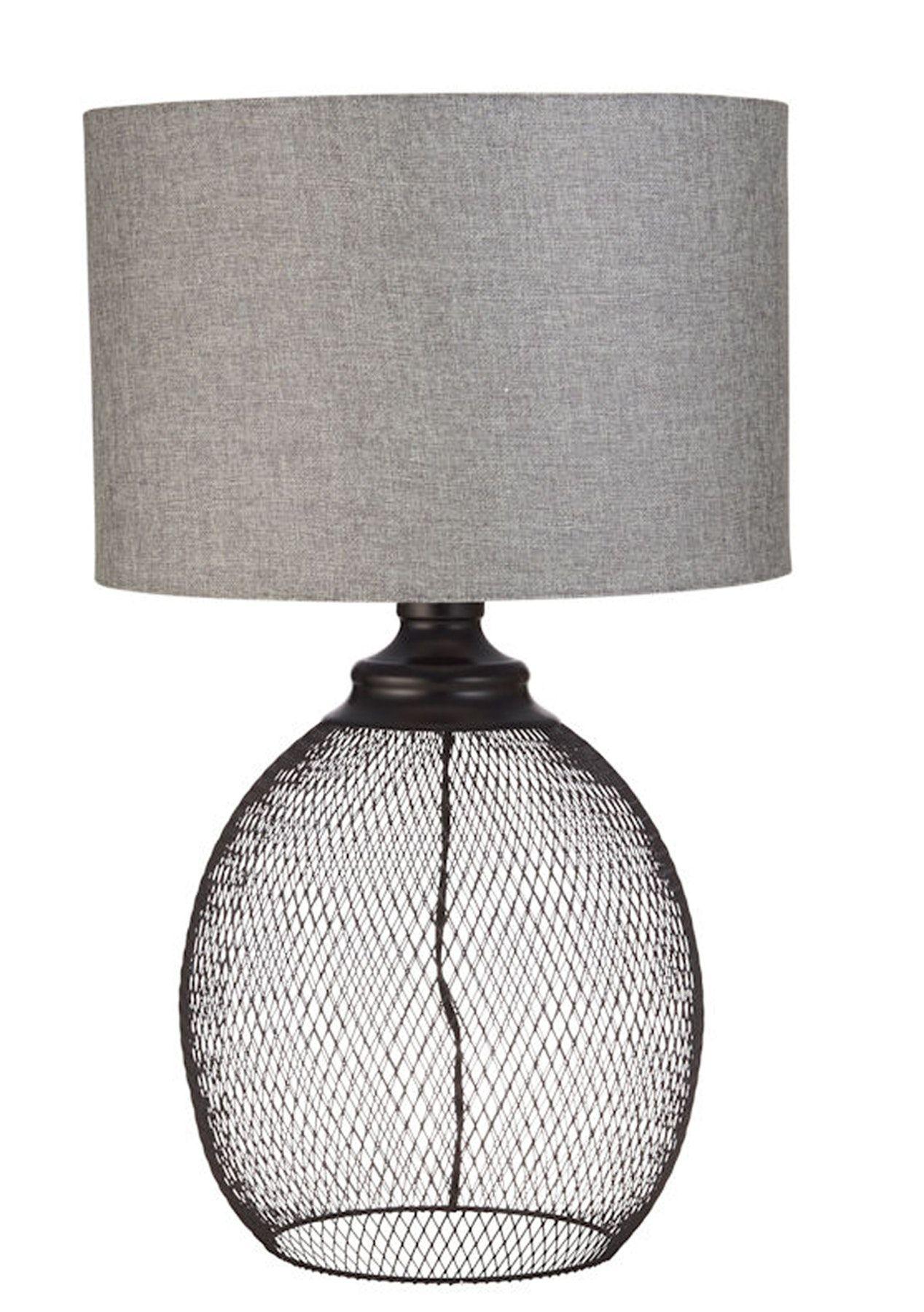 Amalfi Hudson Table Lamp Black